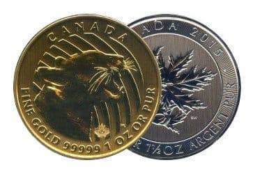 Maple Leaf Sammelmünzen