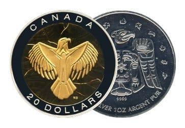 Kanada Silbermuenzen