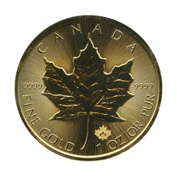 Maple Leaf - Gold
