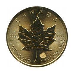 Maple Leaf - Gold
