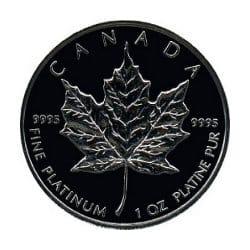 Platin Maple Leaf
